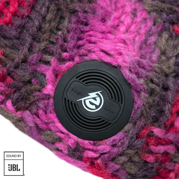 Bluetooth® Checkerboard Beanie JBL® Pink