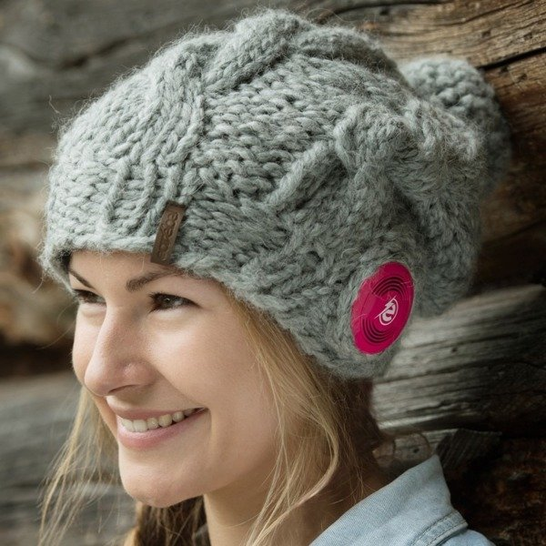 Bluetooth® Handmade Plaint Long Grey