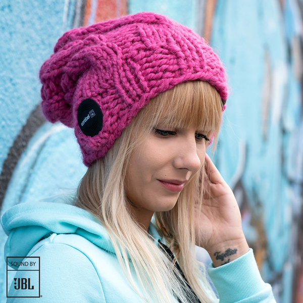 Bluetooth® Long Beanie JBL® Pink